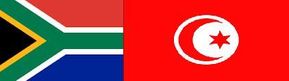 tunisie afrique du sud